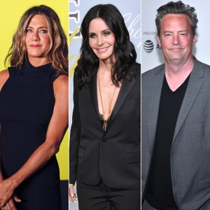 Jennifer Aniston Teases Courteney Cox and Matthew Perry Over Mini Reunion