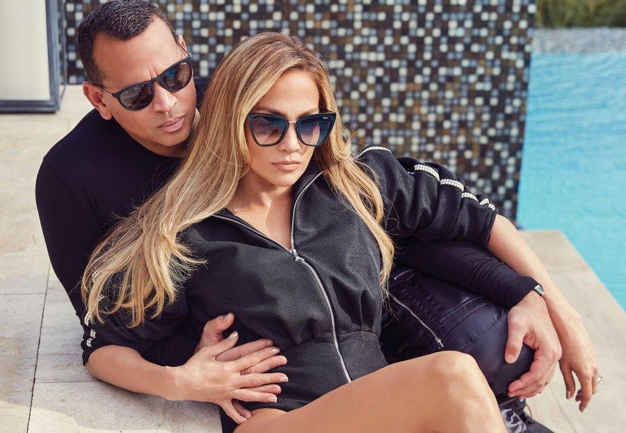 Jennifer Lopez and Alex Rodriguez x Quay Sunglasses
