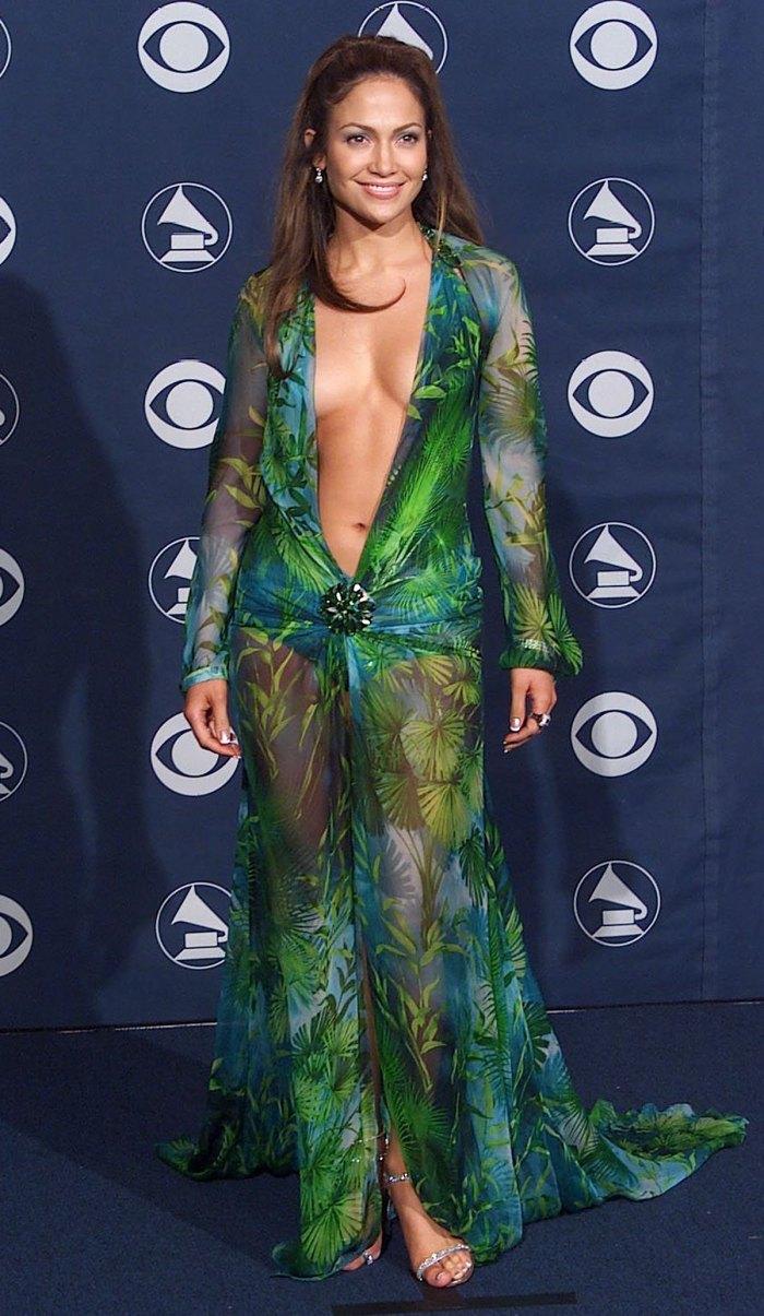 Jennifer Lopez Grammys 2000 Dress Fashion Nova Versace Lawsuit