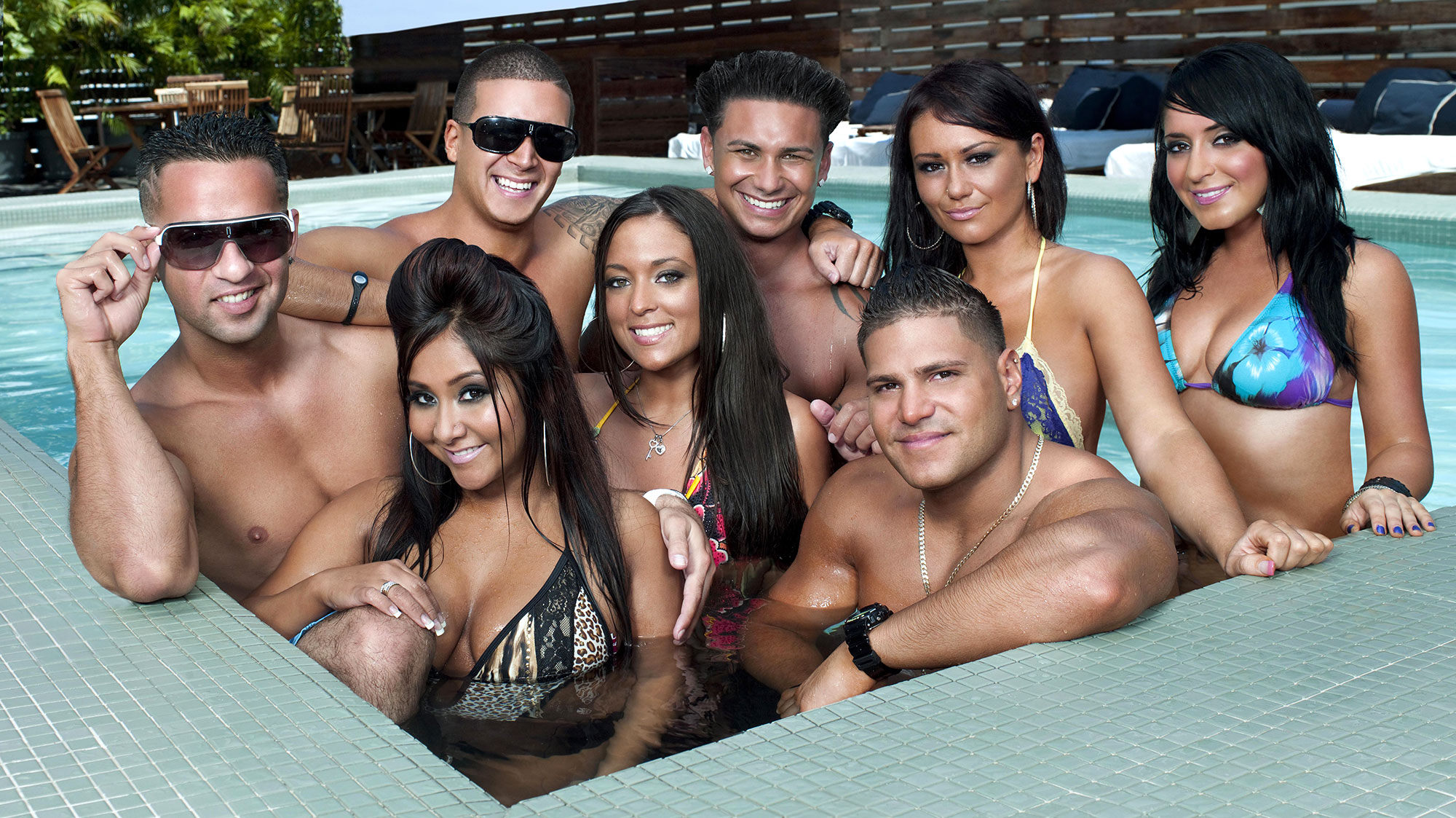 Angelina's Drama With the 'Jersey Shore' Cast Through the Years