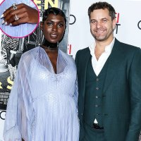 Jodie Turner-Smith Wears Massive Diamond Ring During Red Carpet Debut With Joshua Jackson