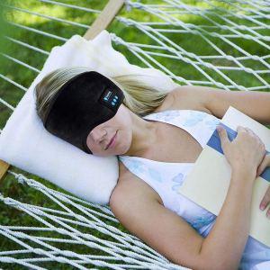 Joseche Wireless Bluetooth Sleeping Eye Mask on model