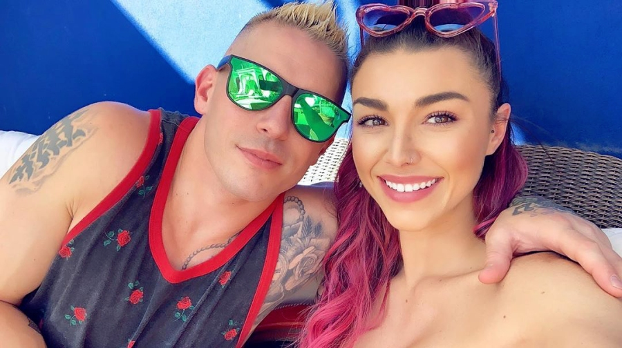 Kailah Casillas and Mikey MTV