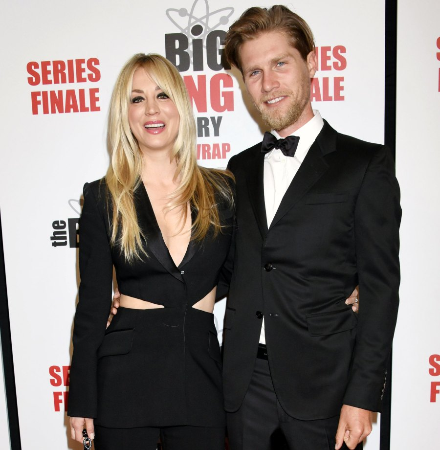 Kaley Cuoco Says She and Her Husband Karl Cook 'Love' Living Separately