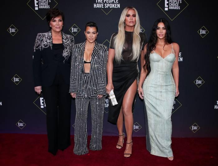 Kardashian Family at 2019 People's Choice Awards