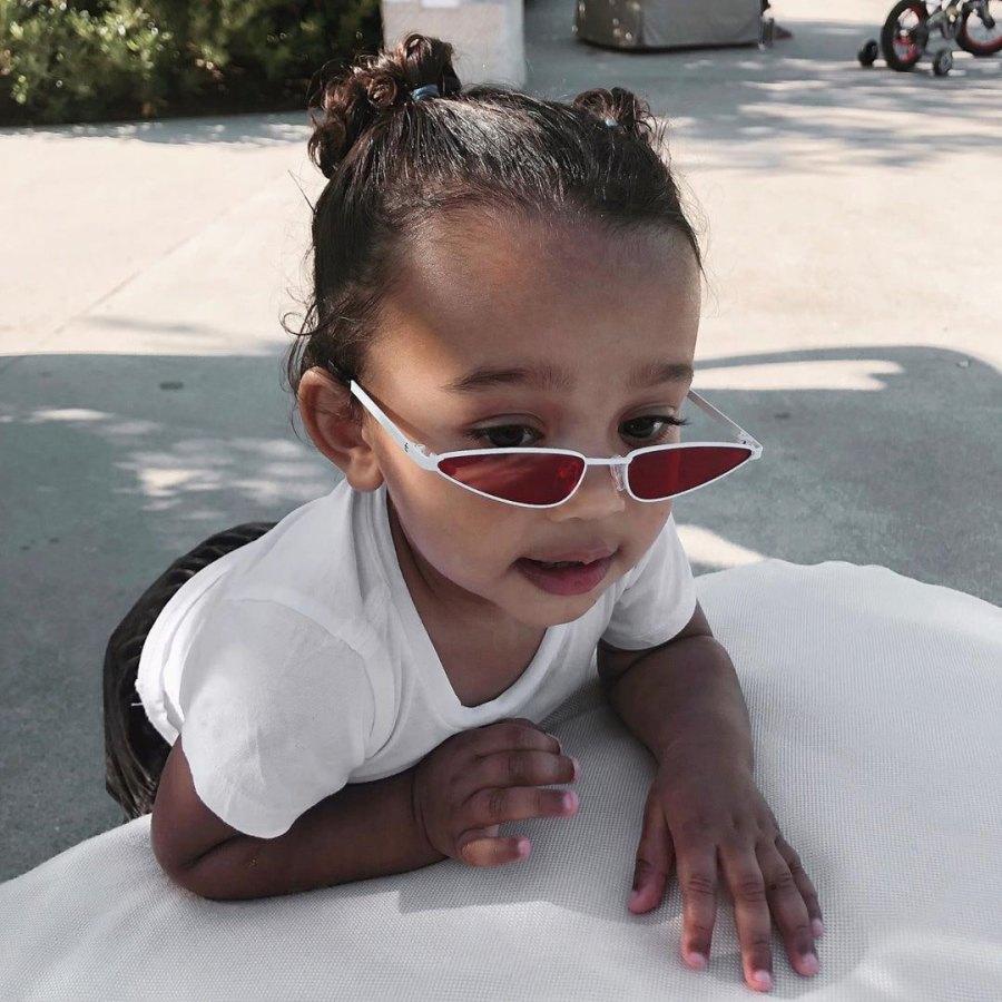 Chicago West Wears Stylish Sunglasses