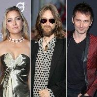 Kate Hudson, Chris Robinson and Matt Bellamy