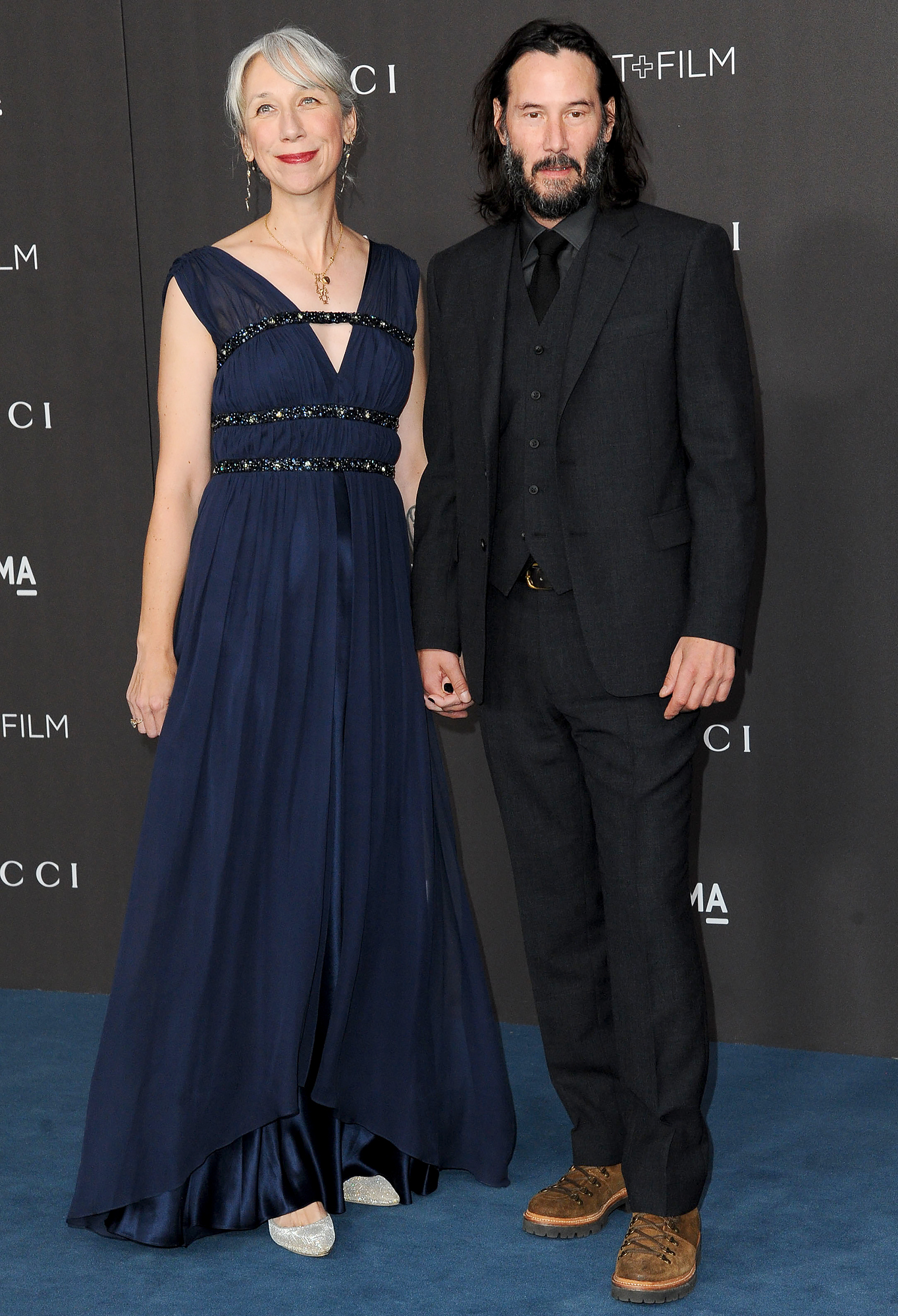 celebrity crush Keanu-Reeves,-Alexandra-Grant-dating