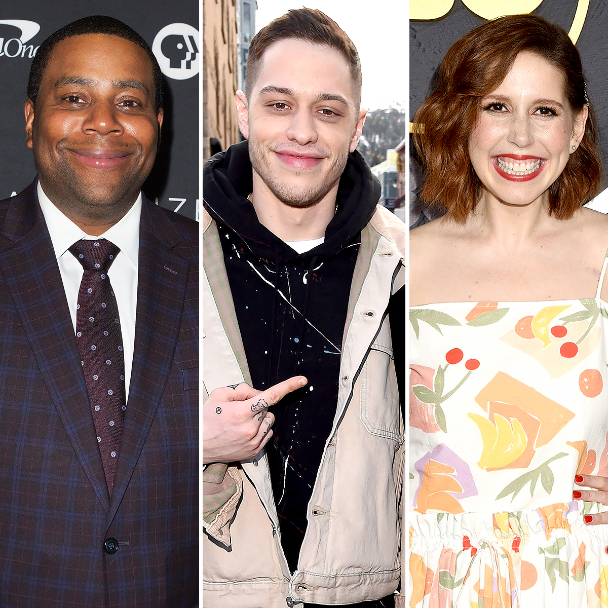 Kenan-Thompson,-Vanessa-Bayer-and-Pete-Davidson
