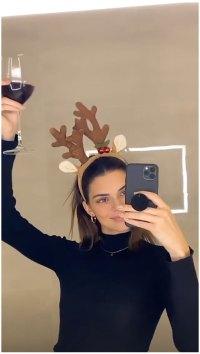 Kendall Jenner Thanksgiving Toast How the Kardashians Celebrated Thanksgiving