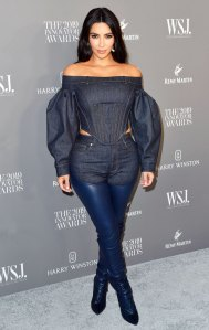 Kim Kardashian Leather Chaps WSJ. Innovator Awards