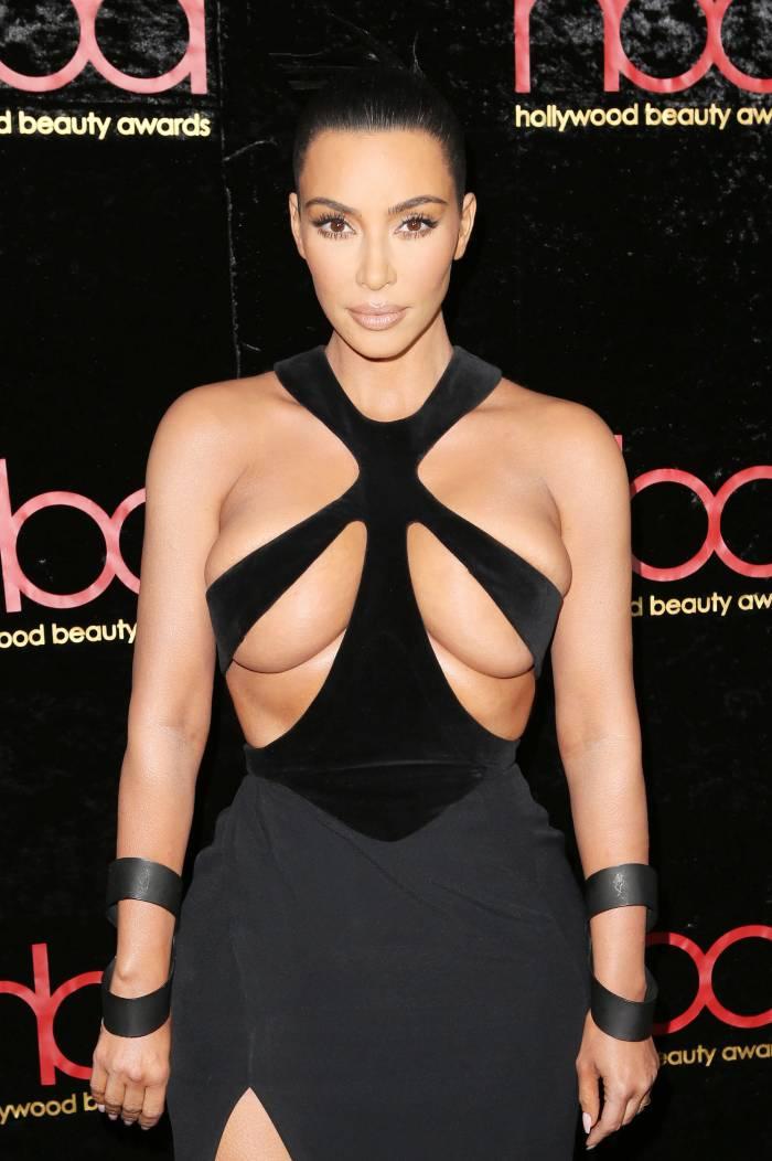 Kim Kardashian Sexy Dressing