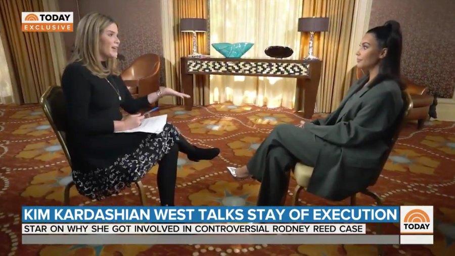 Kim Kardashian Talks Kids on Today with Jenna Bush Hager