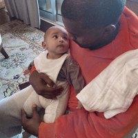 Kim Kardashian West Instagram Kanye West and Psalm West