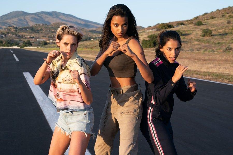 Kristen Stewart, Ella Balinska and Naomi Scott Charlies Charlie's Angels Through the Years