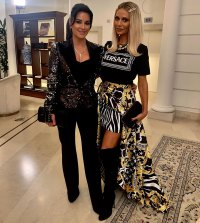 Kyle Richards and Dorit Kemsley Real Housewives of Beverly Hills Cast Trip to Rome