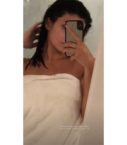 Kylie Jenner Natural Hair Instagram