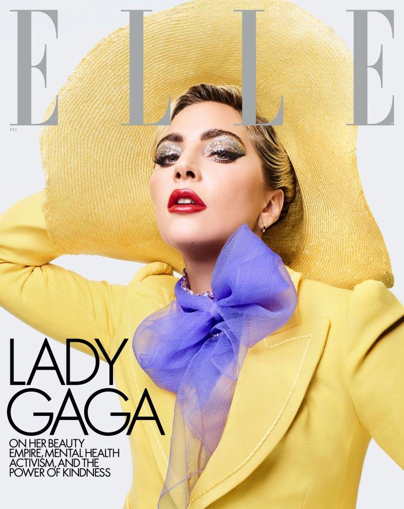 Lady Gaga ELLE December 2019 Cover