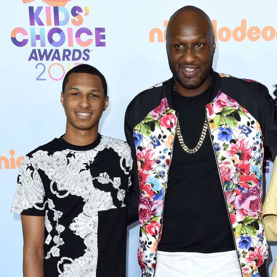 Lamar Odom's Son Found Out About Dad's Engagement Through Social Media