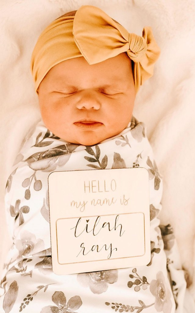 Lilah Ray Roloff Newborn Baby
