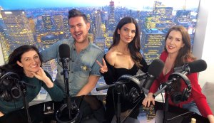 Lily Aldridge on Get Tressed With Us