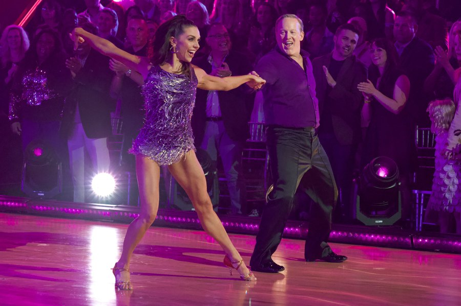 Lindsay Arnold and Sean Spicer DWTS Dancing With The Stars