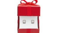 Macy's Diamond Stud Earrings (14k White Gold)