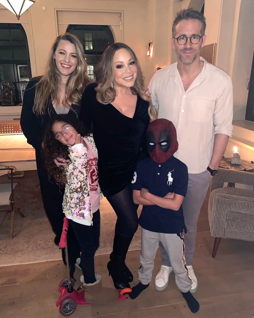 Mariah Carey and Her Twins Hung Out With Blake Lively and Ryan Reynolds