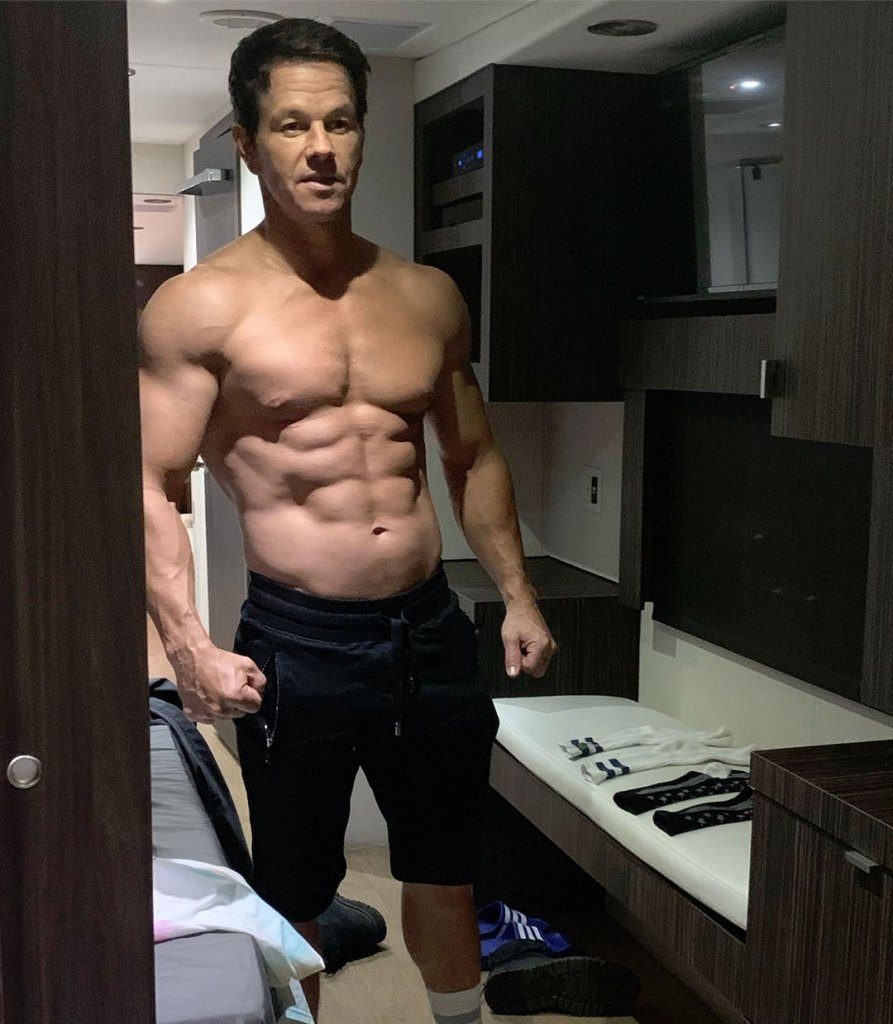 Mark Wahlberg Bulks Up in Fight Against Father Time