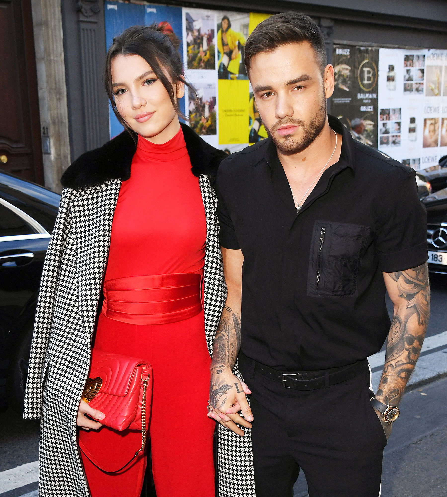 Maya Henry and Liam Payne at Paris Fashion Week Liam Payne Shuts Down Speculation About Girlfriend Maya Henry's Real Age