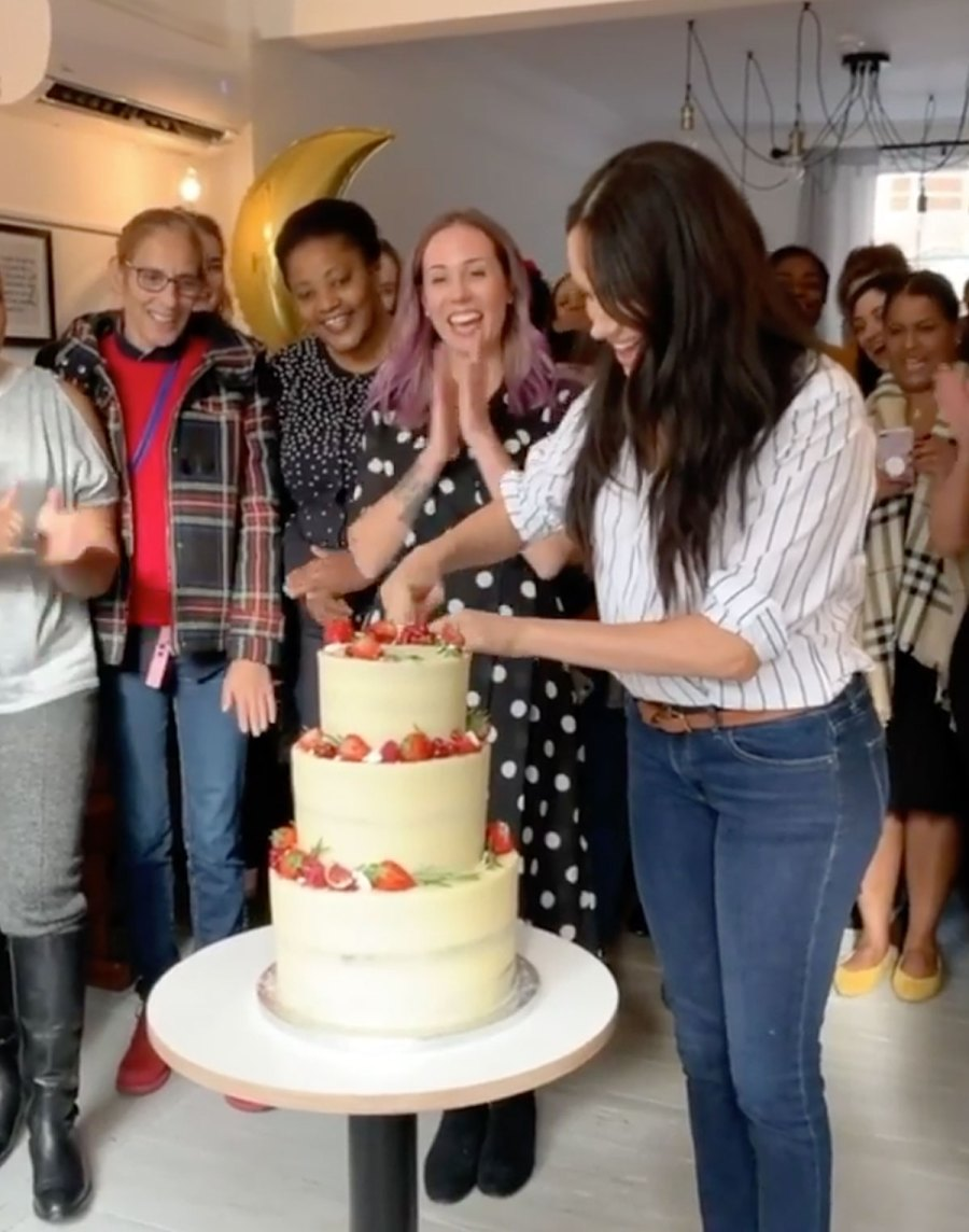 Duchess Meghan Markle Bakery Outing Outfit Instagram