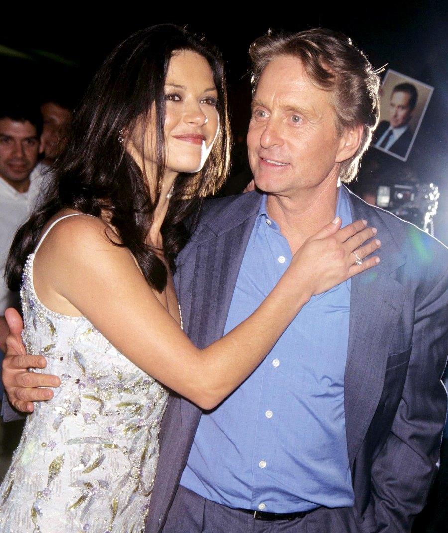 Michael-Douglas-and-Catherine-Zeta-Jones 1-August-1998-meeting