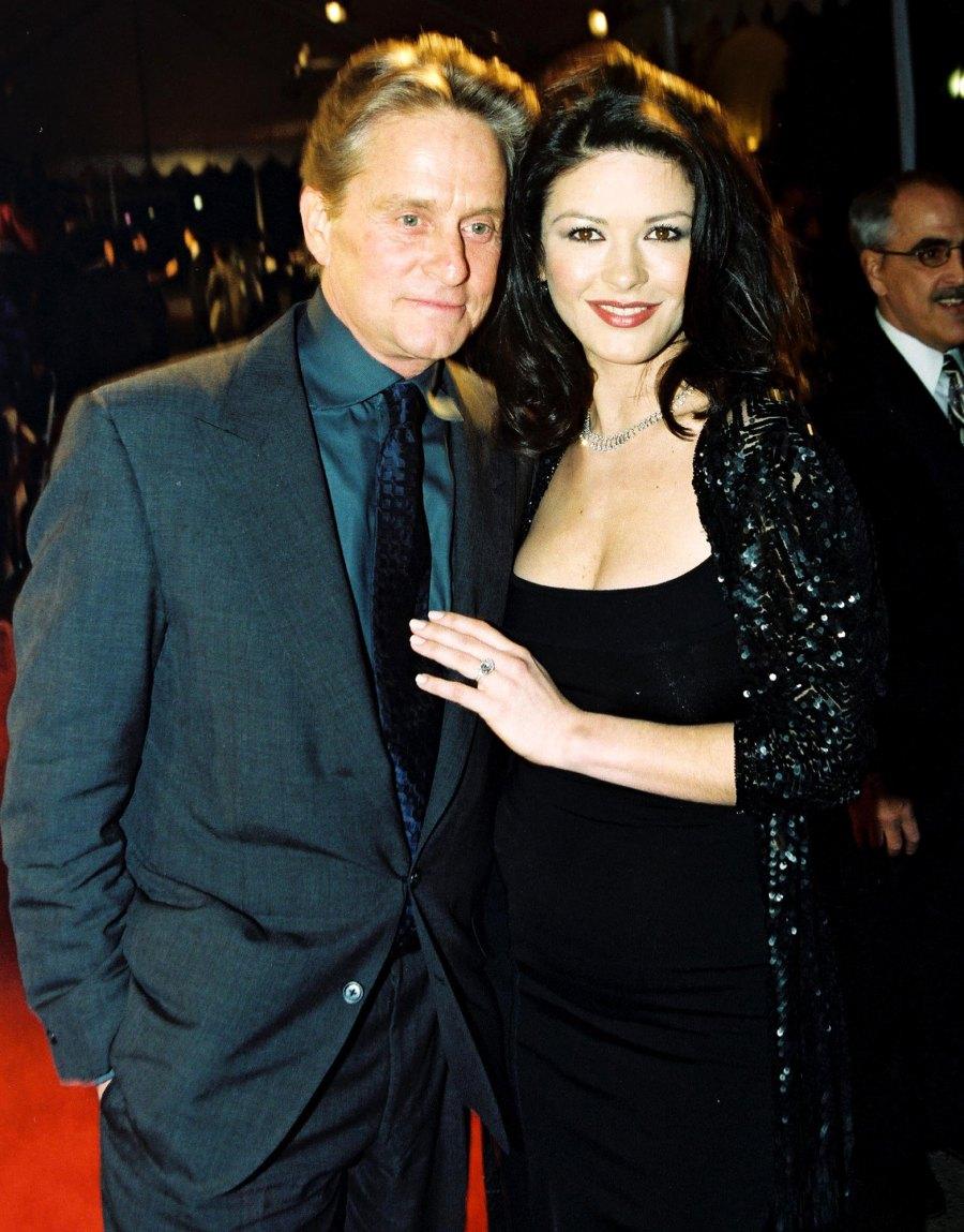 Michael-Douglas-and-Catherine-Zeta-Jones 3-December-1999-proposed
