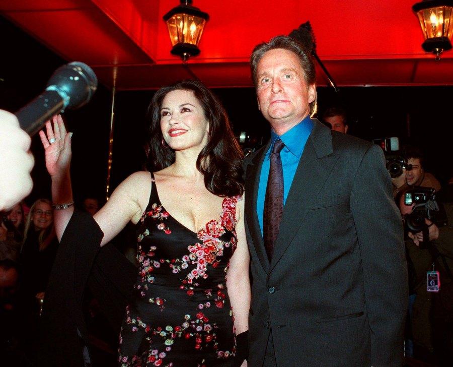 Michael-Douglas-and-Catherine-Zeta-Jones 5-November-2000-wedding