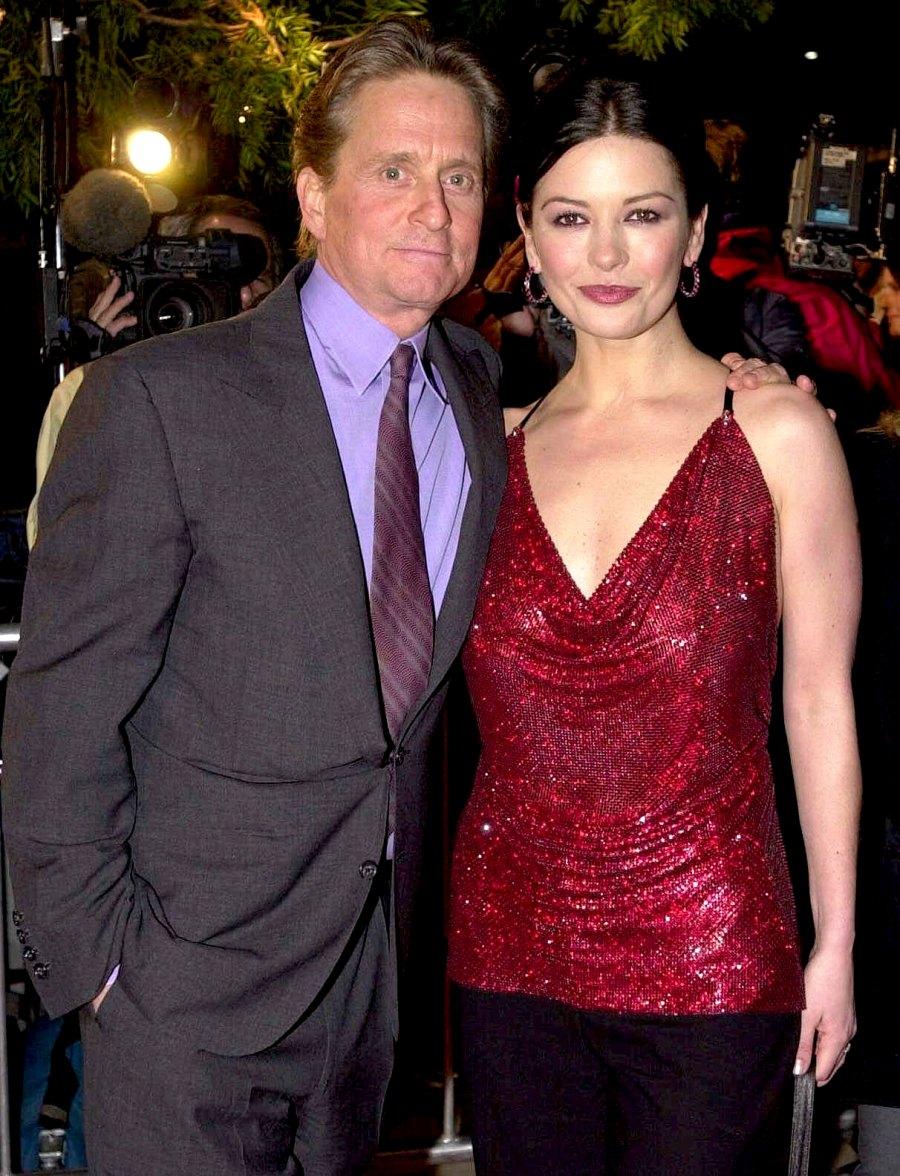 Michael-Douglas-and-Catherine-Zeta-Jones 6-December-2000-skip-venturing-out-on-a-honeymoon