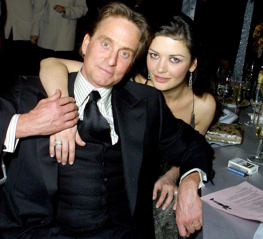 Michael-Douglas-and-Catherine-Zeta-Jones March-2001-The-Courage-Award