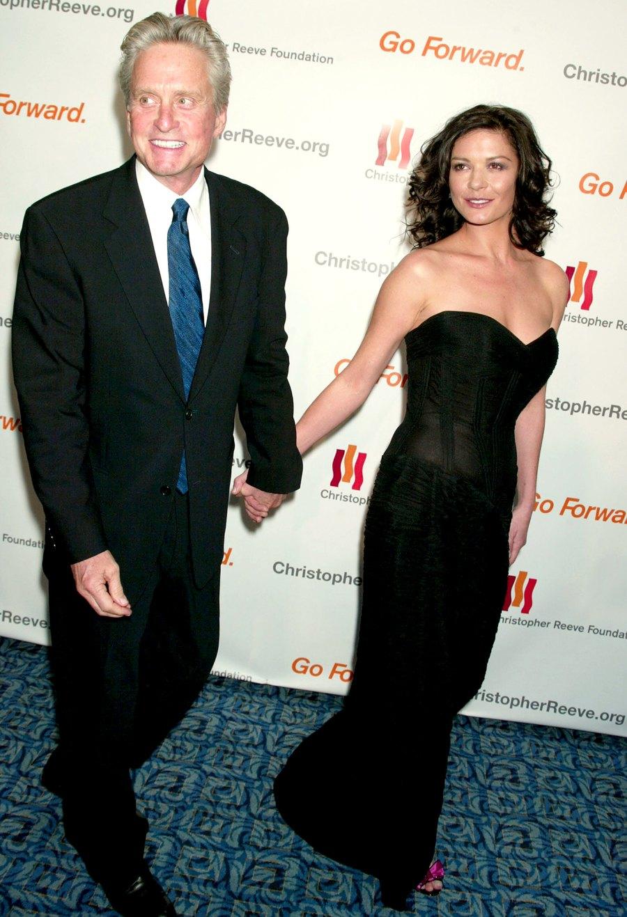 Michael-Douglas-and-Catherine-Zeta-Jones November-2005-Douglas-and-Zeta-Jones-Christopher-Reeve-Foundation