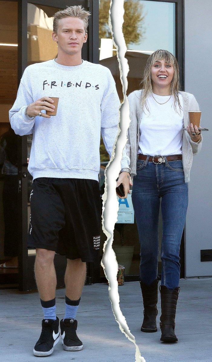 Miley Cyrus Cody Simpson Taking Break
