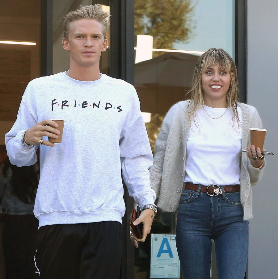 Miley Cyrus and Cody Simpson Spend Quality Time With Her Sister Noah and Mom Tish