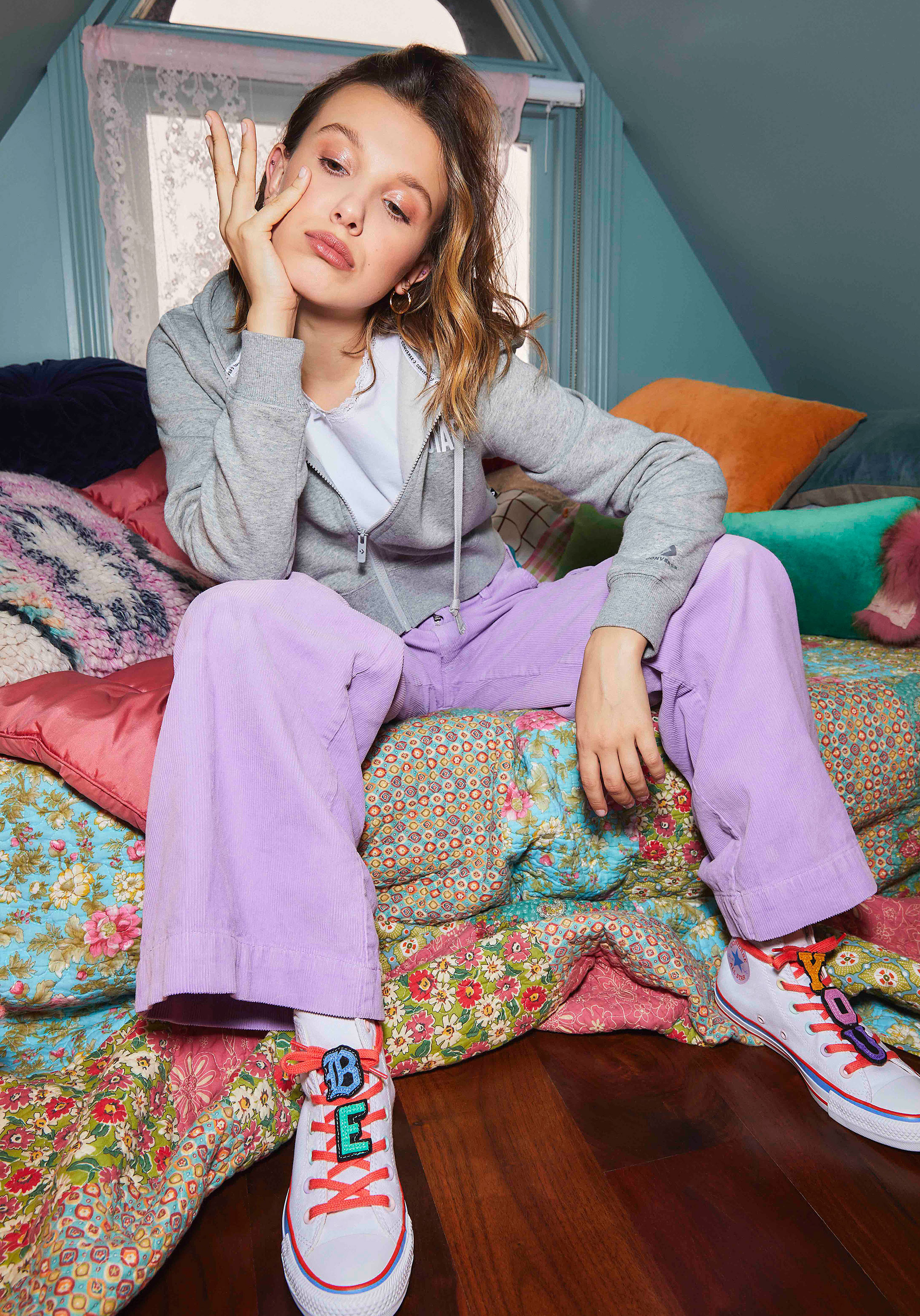 Millie Bobby Brown x Converse Launch Second Collection: Pics