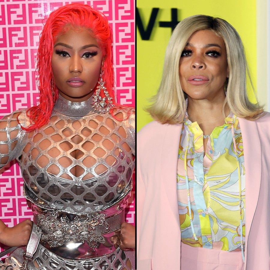 Nicki Minaj Blasts 'Demonic' Wendy Williams on Queen Radio for Bringing Up Her Husband's Criminal Past