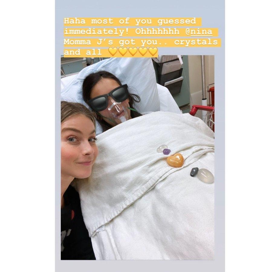 Nina Dobrev Goes to Emergency Room After Severe Allergic Reaction, Gets a Visit From Julianne Hough