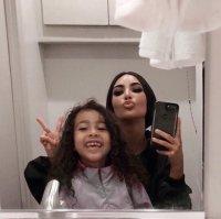 North West Kim Kardashian selfie