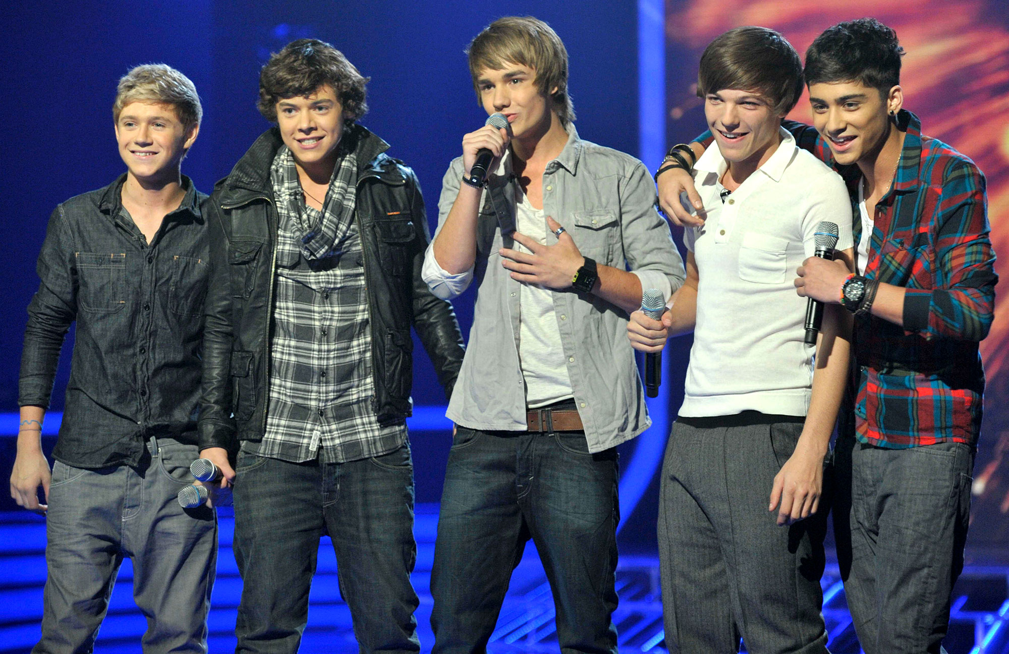 One Direction - Liam, Niall, Harry, Louis and Zayn X Factor