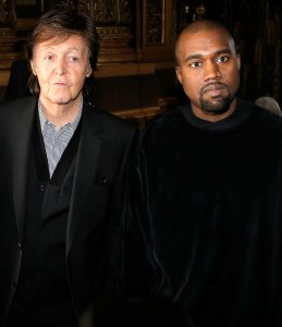 Paul McCartney Kanye Was Scrolling Through Images of Kim When We Met