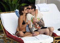 Pete Davidson and Girlfriend Kaia Gerber Get Hot and Heavy, Make Out in Miami