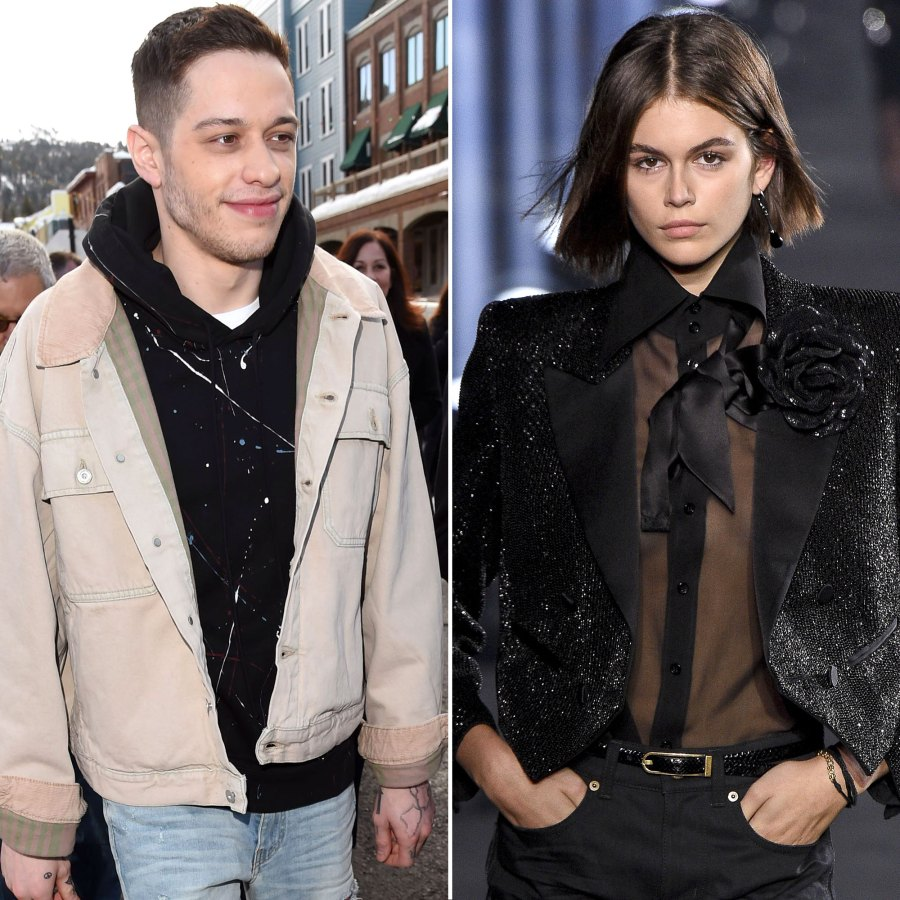 Pete Davidson and Kaia Geber Enjoy a Night Out
