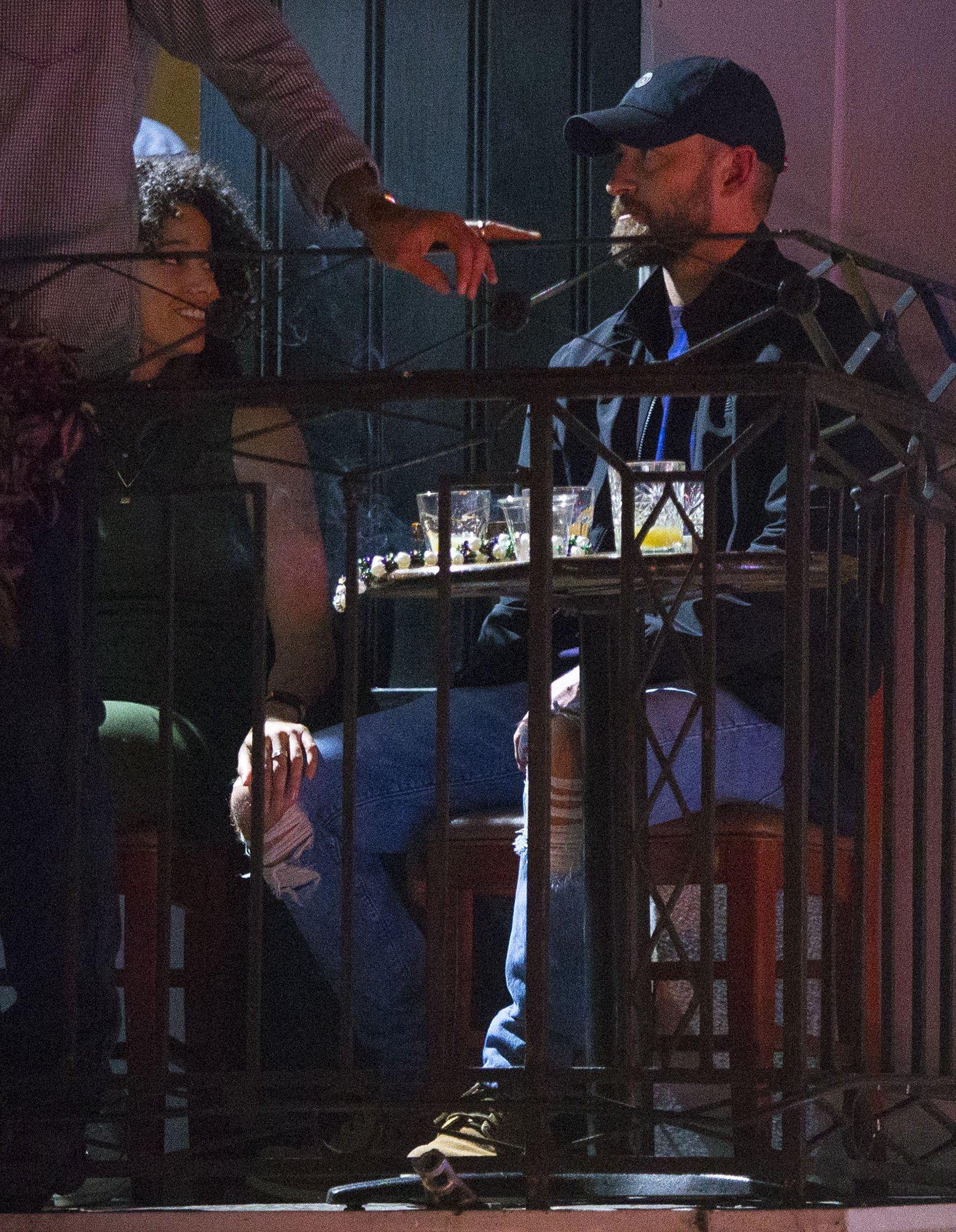 Justin Timberlake, Costar Alisha Wainwright Holding Hands: Photos