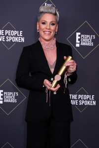 Pink Accepts People's Choice 2019