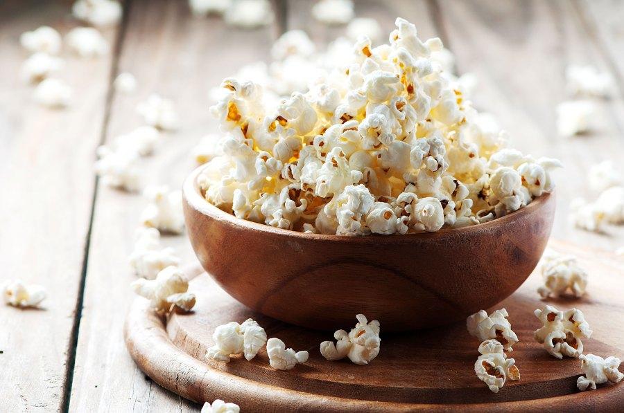 Popcorn Kourtney Kardashian Approved Snacks for Kids